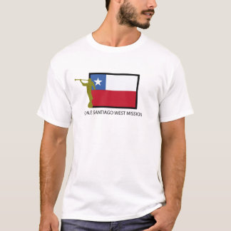 T-shirt CTR occidental de la mission LDS du Chili Santiago
