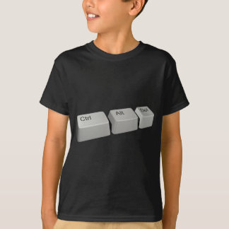 T-shirt Ctrl Alt Del
