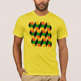 T-shirt cubes 3D