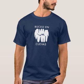 T-shirt Cuevas d'en de Buceo !  Plongée de caverne dans le