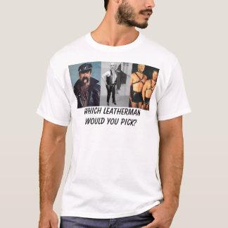 T-shirt Cuir présidentiel