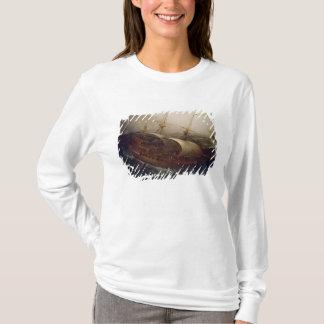 T-shirt Cuirassé néerlandais dans une tempête