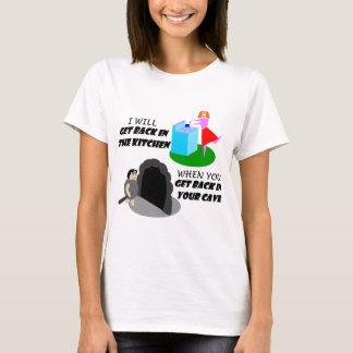 T-shirt Cuisine et caverne