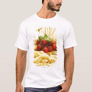 T-shirt Cuisine italienne. Pâtes et tomates