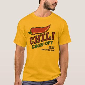 T-shirt Cuisinier de piment outre de la concurrence