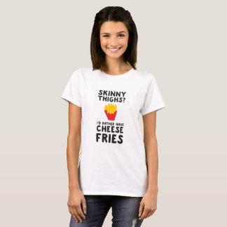 T-shirt Cuisses maigres ? Je prendrais plutôt des fritures