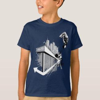 T-shirt Culbute à l'envers de Parkour