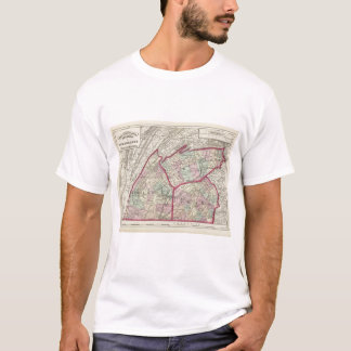 T-shirt Cumberland, Franklin, comtés d'Adams