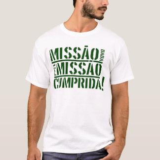 T-shirt Cumprida de missão d'é de dada de Missão