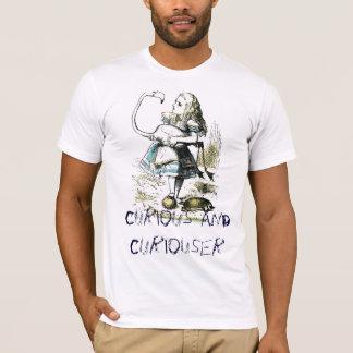 T-shirt Curieux et plus curieux