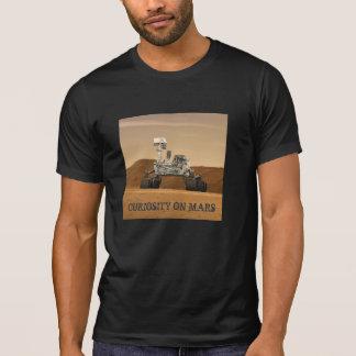 T-shirt Curiosité Rover sur Mars