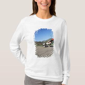 T-shirt Curtiss P-40 Warhawk, au salon de l'aéronautique