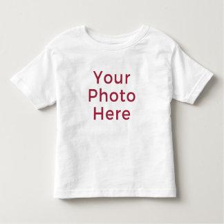 T-shirt customisé personnalisé d'enfant en bas âge