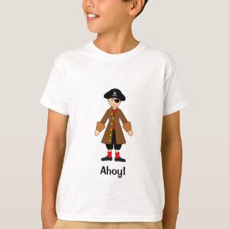 T-shirt Customisez-moi -- Piratez le costume de capitaine