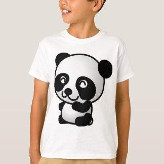 T-shirt Cute little panda