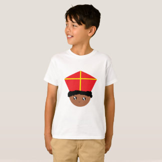 T-shirt Cutieful badine la mitre Zwarte Piet de