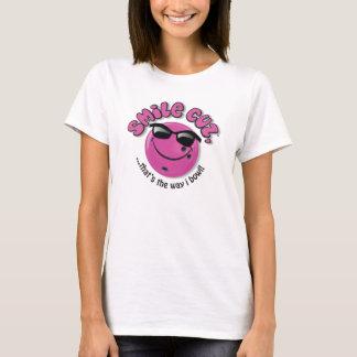 T-shirt cuz de sourire,… qui est la cuvette de la manière