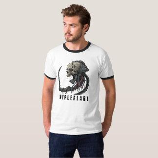 T-shirt cyber skull neplealart