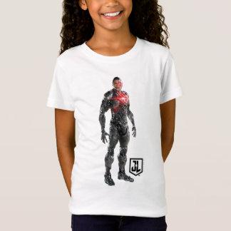 T-Shirt Cyborg de la ligue de justice | sur le champ de