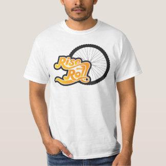 T-shirt cycliste de hausse et de petit pain