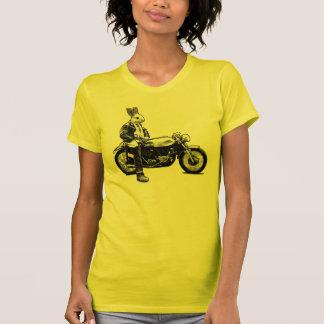 T-shirt Cycliste de lapin