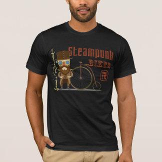 T-shirt Cycliste de Steampunk