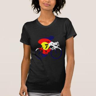 T-shirt Cycliste du Colorado