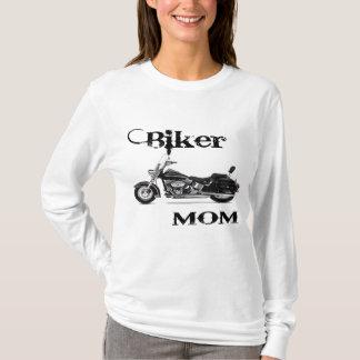 T-shirt Cycliste-Maman