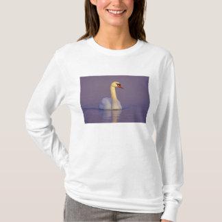 T-shirt Cygne muet, olor de Cygnus, mâle, Unterlunkhofen,