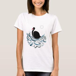 T-shirt Cygne noir