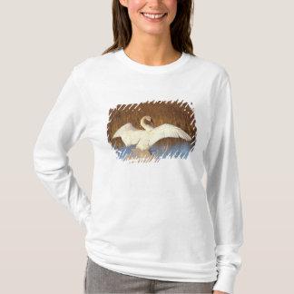 T-shirt Cygne siffleur ou cygne de toundra, étirage son