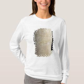 T-shirt Cylindre B avec une inscription votive