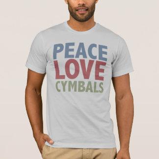 T-shirt Cymbales d'amour de paix