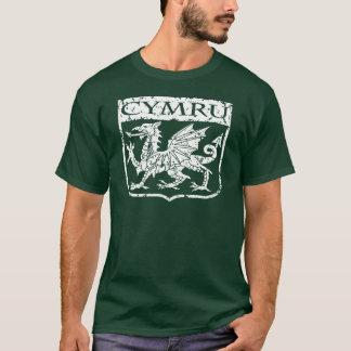 T-shirt Cymru - le Pays de Galles - cru