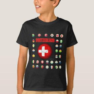 T-shirt d7 de la Suisse