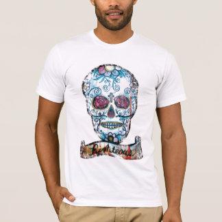 T-shirt D-Crâne T d'art de Joe Morris
