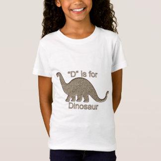 T-Shirt D est pour le dinosaure