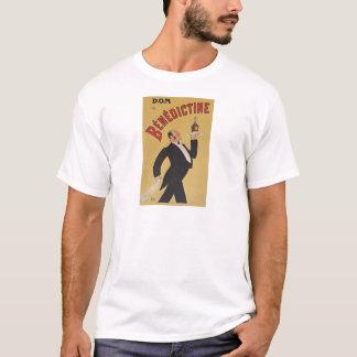 T-shirt D.O.M. Benedictine par Georges Goursat PD-US