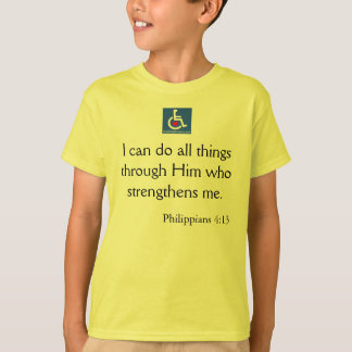 T-shirt D/R - Citation de 4h13 de Philippiens