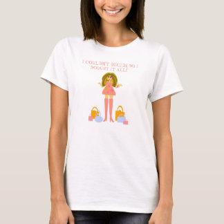T-shirt d'achats