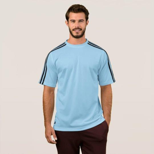 T-shirt pour homme Adidas ClimaLite®, Bleu argentin/noir