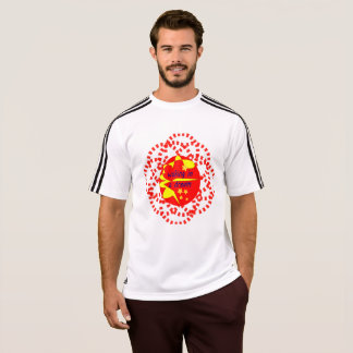 T-shirt d'Adidas pour des sportifs