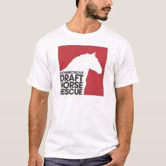 T-shirt d'adulte de délivrance de cheval de trait