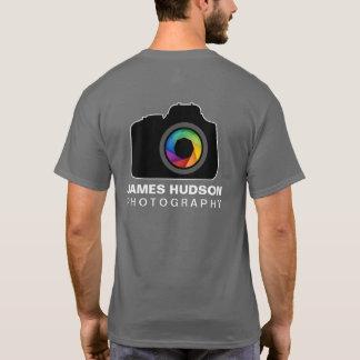 T-shirt d'affaires de photographie