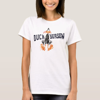 "T-shirt DAFFY désagrégé DUCK™ ""saison de canard """