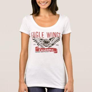 T-shirt d'ailes d'Eagle