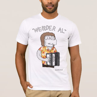 """T-shirt """"D'Al plus étrange"""" en or"""