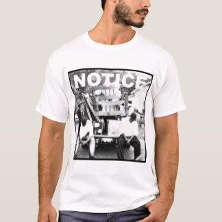 T-shirt d'album d'avis