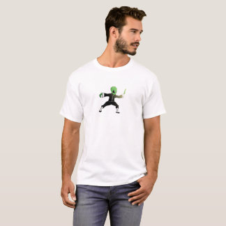 T-shirt d'alien de Chi de Tai