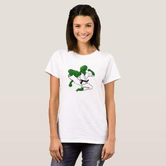 T-shirt d'alien du Taekwondo